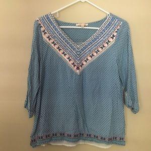 Stitch fix 3 quarter blouse